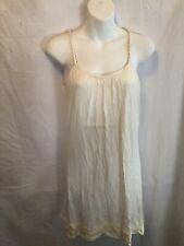 Isabella Rodriguez Sz M  Ivory Dress Summer Womans Nwt