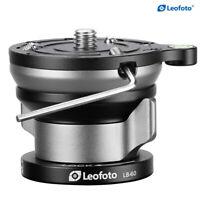 Leofoto LB-60 LB-60N Quick Adjust Horizontal Head, Leveling Base for Tripod