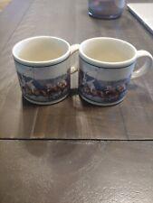"""Ralph Lauren Polo""- 2 Matching Coffee Mugs- *"