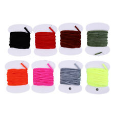 2mFly Fishing Wooly Worm Fly Streamer Fly Tying Chenile Thick 3mm~5mm 8bags/lBs