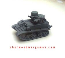 28mm British Vickers Mk VIb In Resin By Blitzkrieg WWII Bolt Action,
