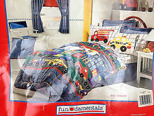 New In Bag - Full Comforter - Cannon Fun Damentals - City Shapes - Double Sided