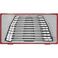 Teng Tool TT8012 Anti Slip Combination Spanner Wrench Set 8 - 19 mm In Tray Case