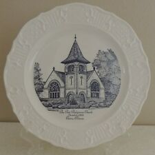 VTG First Presbyterian Church CAIRO Ill. Collector Plate Edwards China Maryland