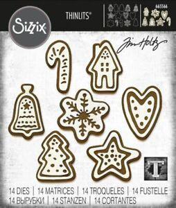 Sizzix Christmas Cookies Die Set by Tim Holtz