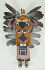 TRADITIONAL STYLE HOPI KACHINA ~ ARTIST SIGNED ~ STAND INCLUDED