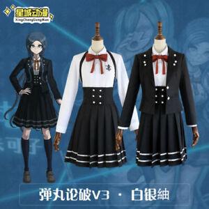 Danganronpa V3 Killing Harmony Shirogane Tsumugi Uniform Cosplay