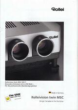 Neues AngebotRollei Prospekt für Rolleivision twin MSC 535 P