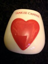 Yankee Candle Red Painted Hearts Votive Sampler Holder
