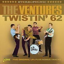 Twistin' 62 - Five Original LPS Plus Bonus Tracks The Ventures 0604988077629