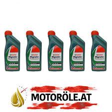 5x1 Liter Castrol Magnatec Professional A3 5W-40 Motoröl, API SN/CF