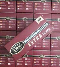 12000 tubetti sigarette vuote King Size filtri lungo (40 scatole di 300 tubi)