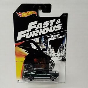 "HOT Wheels 67 MUSTANG The Fast and the Furious NEW "" PROTECTO PAK "" MINT CARD"