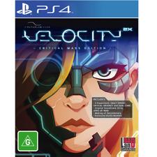 Velocity 2x Critical Mass Edition Arcade Platformer Game Ps4 Sony PlayStation 4