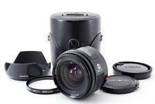 Minolta AF 24mm f/2.8 Lens For Sony A w/Case, Hood, Filter [Exc JAPAN 611875
