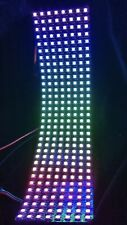 Neopixel flexible 8x32 RGB LED array panel clone, 256 WS2812B addressable LEDs