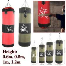 Heavy Duty Punching Training Bag Mma Boxing Martial Arts Kicking Sandbag Gears