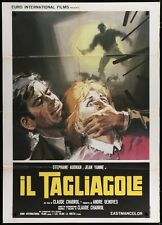 Le BOUCHER The BUTCHER Italian 2F movie poster 39x55 CHABROL STEPHANE AUDRAN