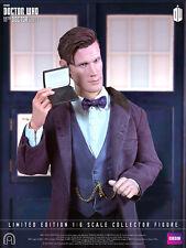 """Doctor Who 11th Dr. 1:6 escala 12"""" pulgadas figura de acción BBC gran jefe-Matt Smith"""