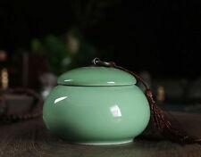 1pc China Longquan Celadon MeiZhiQing Tea Caddy  Pu'er Tea  Sealed Cans