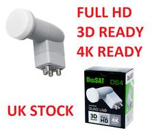 Quad LNB konwenter DIGISAT postérieur Premium Ready For HD 3D 4K Polsat, NC + Ciel