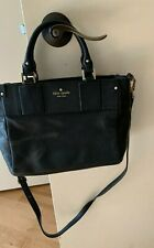 Kate Spade Leather Crossbody Strap + Handles - Purse / Satchel, Black, NEW