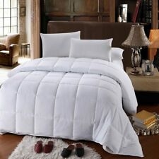 White Down Altern. Comforter All Season Medium Fill Weight Micro Duvet Insert