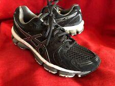 Asics Gel-Kayano 18 IGS Black Sneakers Running Shoes Women's 9 T250N