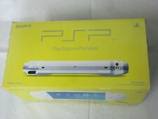 F631 Sony PSP 1000 console Ceramic White Handheld system Japan w/box x