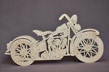 Knucklehead Hand Cut  Motorcycle 24 parts  Wooden Puzzle Toy NEW