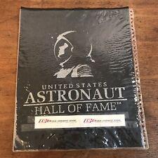 Vtg Us Astronaut Hall of Fame T-Shirt Screen Printing Proof Felt Sheet Sample