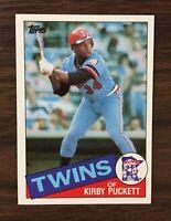 1985 Topps Set Break #536 KIRBY PUCKETT RC   NM-MT or BETTER  H8020514