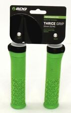 SDG Thrice 31 Lock On Mountain Bike Handlebar Grips - Neon Green