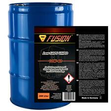 200 Liter Fass, Motoröl für LKW und Busse FUSION Low SAPS UHPD 10W-40