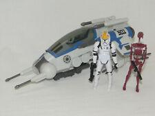 Hasbro Star Wars 501st Legion Attack Dropship mit Pilot und Battle Droid