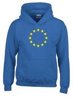 European Union Hoodie EU Flag Brexit Euro Stars Remain Gift Men Sweatshirt Top