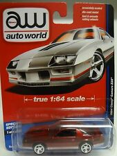 Auto World Ultra Red Chase 1984 Chevy Camaro Z28 AW Deluxe Hobby Exclusive A 17N