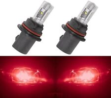 LED 30W 9004 HB1 Red Two Bulbs Head Light Replacement Show Use Off Road Fit