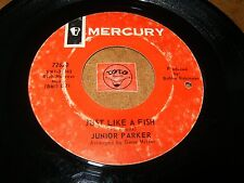 JUNIOR PARKER - JUST LIKE A FISH - BABY PLEASE    / LISTEN - R&B POPCORN