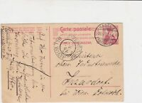 switzerland 1909 carte post stamps card ref 20371