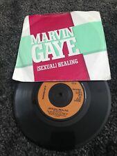 "MARVIN GAYE [SEXUAL] HEALING 1982 CBS 7"" UK PRESS. P/S"