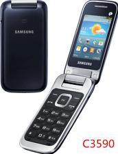 "Samsung C3590 3G  Unlocked 2.4"" 2MP Big Buttons Free shipping"