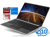 """HP 14, 14"""" HD, A9-9425, 16GB RAM, 512GB SSD, Windows 10 Pro"""