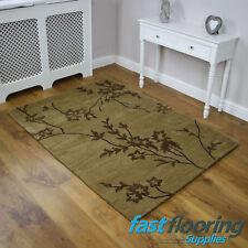 Abrash AB54 Beige Rug 100% Wool *0.90 x 1.50* Lounge Bedroom - SALE - *RRP £145*