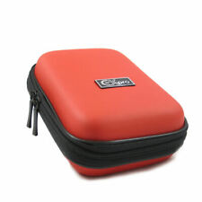 Ex-Pro® Red Hard Clam MED Camera  Case for canon Powershot  Ixus SX210 IS