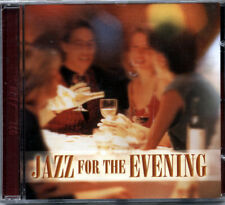 Jazz for the Evening Music CD, Instrumental Tracks, Dinner Music, New and Sealed