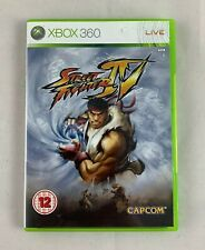 Street Fighter IV (Microsoft Xbox 360 Pal, 2009) Complete With Manual !!!