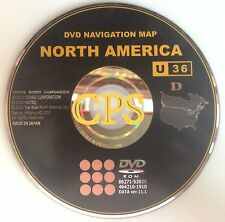Sequoia Sienna Solara Tundra Scion tC xB xD Navigation DVD U36 Map Edition ©2012