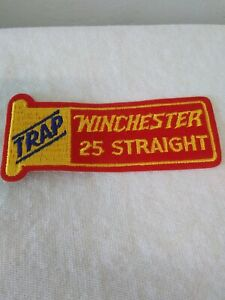 Vintage Winchester 25 Straight TRAP Patch