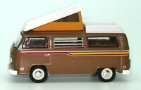 1:64 1972 VW KOMBI VAN T2 CAMPMOBILE -  BRAND NEW - SUPERB DETAIL